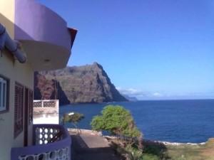 Vista dalla nostra camera a Ponta do Sol