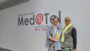 Simabo's founder Silvia at med@tel
