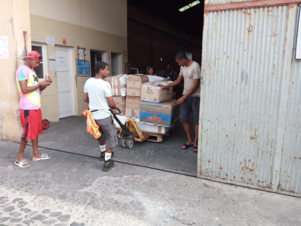 goods sent to Simabo, Cape Verde